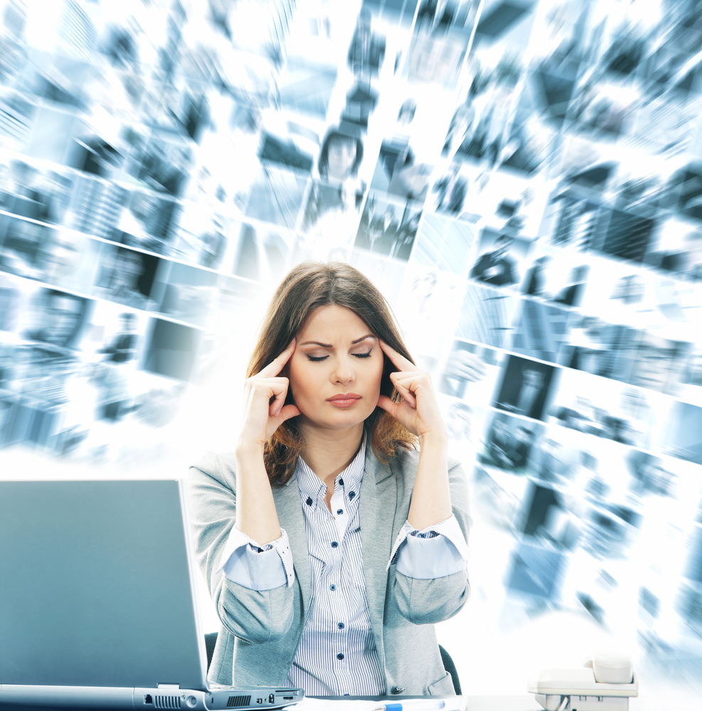 information overload On networks like facebook and twitter, high- and low-quality information—read:  accurate and inaccurate—have an equal chance of success,.